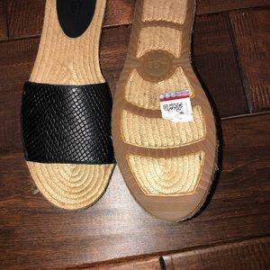 UGG Shoes - Women's size 7 ugg slip on sandals